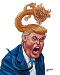 Raging Trump by theGOPFATHER