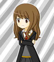 Hermione drawing by Striped-Kitten