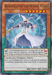Magician of the White Star CARD by DragonShinyFlame