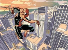 Spiderman Swinging 2 by Ullcer
