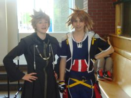 Roxas and Sora by AnimiaStorm