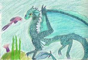 sea dragon by Marl1nde