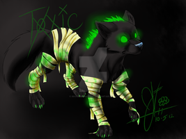 Toxic: other Wolf i adopted ^^ by invaderwolfgirl