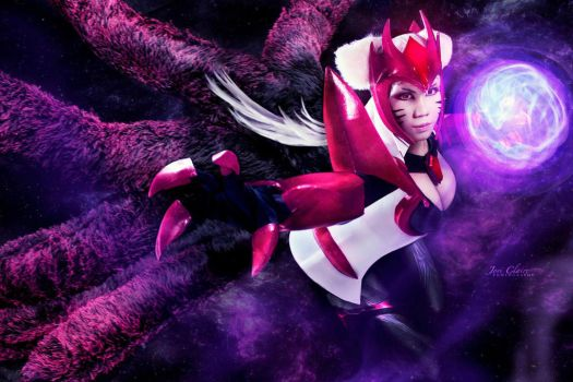 Challenger Ahri Cosplay by Kasume-chan