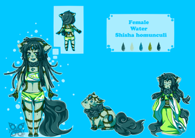 Water Homunculi child stage - Sinjo by UndyingKite