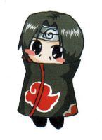 Another Itachi chibi by AkatsukiLesson