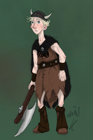 Wee Dingwall the Beserker by Plixs-1