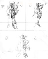 How-To Draw SD Gundam Notes by optimusprimus001