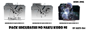 Icon Folder - Pack Higurashi No Naku Koro Ni by alex-064