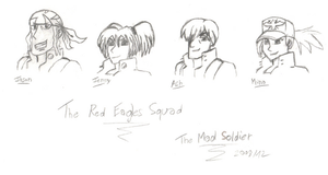 The Red Eagles Squad by TheMadSoldier