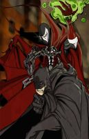 Spawn / Bats by rebelstardeviantarts