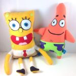 SpongeBob and Patrick by LittleCritters00