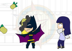 Chibi Chain - Bat-Timing - Defend by Dragon-FangX