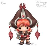 Chibi Eson for Bourgogne by capsicum
