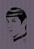 Zachary Quinto As Spock by jmralls2001
