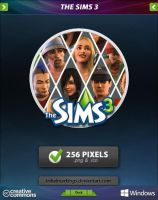 The Sims 3 Icon by tRiBaLmArKiNgS