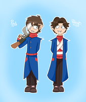 Paul and Patryk (Eddsworld) by SkylarRose0411