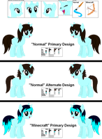 [GIFT] Mary Nights Reference Sheet by LR-Studios
