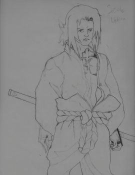 Sasuke Uchiha firts attempt by klona