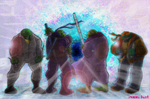 TMNT Get Ready For The Past by theblindalley