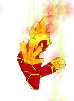 ben 10 alien:heatblast by killerkeithfromouter