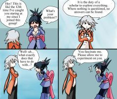 Raine x Sheena: 4koma part 1 by melidichan