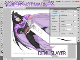 The Devil Slayer 3 Color Screenshot - For Relina by Puukocho
