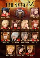 Final Fantasy Type-0 All of us by Silverx1307