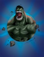 Hulk by Sanchez by KileyBeecher