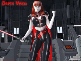 Darth Viscia for Honeymodel by tartanninja