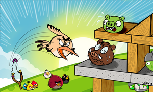 Cover February 2013 - Angry Birds by Contix