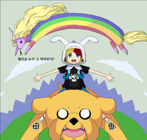 It's Adventure Time by Mattmankoga