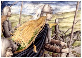 The Riders of Rohan by peet