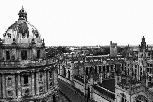 Oxford Spires by gee231205