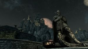 Night in Whiterun by Conn1321