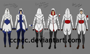 Assassin's Creed Ancestor Jackets by CCNCC