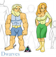 Dwarves by LoopyWolf