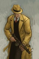 Dick Tracy by atomicman