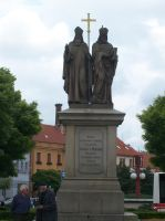 Cyril and Methodius by Qymaen