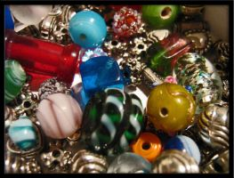 My Little Box of Beads by Nami-Satu