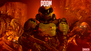 DOOM has come  by Ionyen
