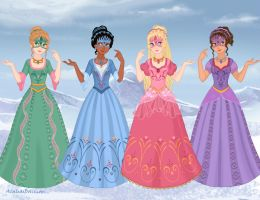 Barbie and the Musketeers (Ball) by M-Mannering
