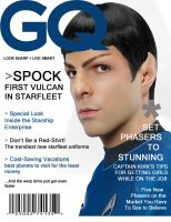 Spock GQ Cover by AmericaFreedomJones