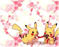 Valentine Lover Pikachu by Eternal-S