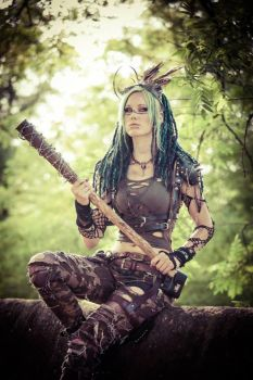 Wasteland Raider by LivingDreadDoll