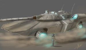 Hover Tank by BlackPhrost-Ixion