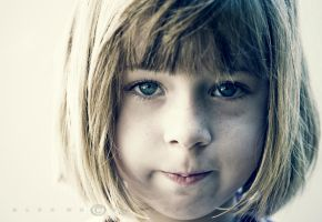 .:Portrait of a girl:. by axle71