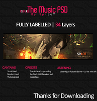PSD.LRO The Music by Spilot