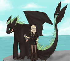 HTTYD: delicious fish by Nekoshiba