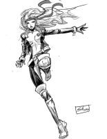 Inksketch: Rogue by Shono